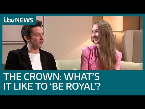 Full Interview: Josh O'Connor and Erin Doherty on being in series three of The Crown | ITV News