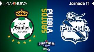 Resumen | Santos vs Puebla | Liga BBVA MX - Guard1anes 2021 - Jornada 17