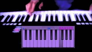 keyboard tutorial-naino me badra chaye-mera saya (1966)