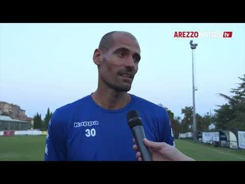 Arezzo-Pianese 1-1, intervista a mister Potenza