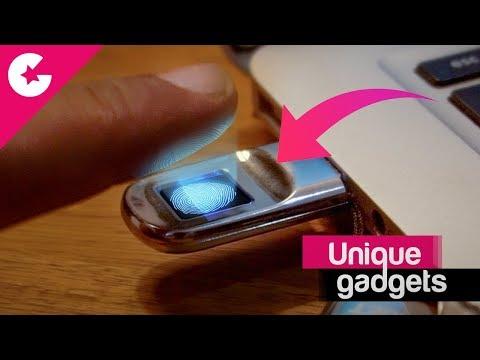 Unique Pen Drive With Fingerprint Scanner