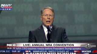 FNN: NRA CEO Wayne LaPierre Bashes Media During Speech at 2017 Convention in Atlanta
