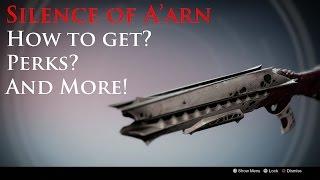 Destiny: Silence of A'arn King's Fall Raid Shotgun Review! Plus Surrounded Perk Test