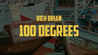 Rich Brian   100 Degrees (Lyric Video)