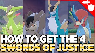 How to Catch Keldeo & The Swords of Justice in the Crown Tundra - Pokemon Sword Shield DLC