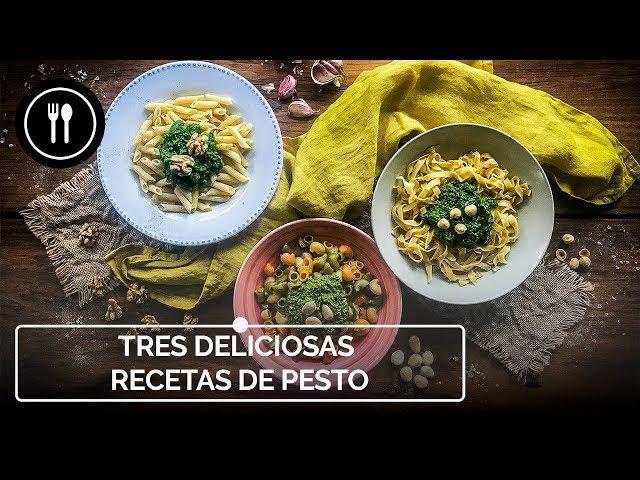 SALSA PESTO: Preparamos 3 FÁCILES y DELICIOSAS VERSIONES | Instafood