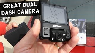 AZDOME GS65H DASH CAMERA INSTALLATION AND REVIEW
