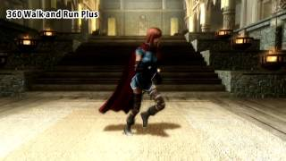 Skyrim - анимация бега