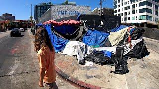 Hollywood je oficiálně ghetto... NESKUTEČNÁ PROMĚNA MĚSTA