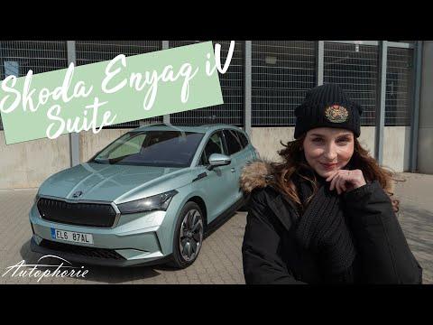 🔋 2021 Skoda ENYAQ iV 80 Suite (150 kW) Test: Großer Auftritt - Kleiner Verbrauch [4K] - Autophorie