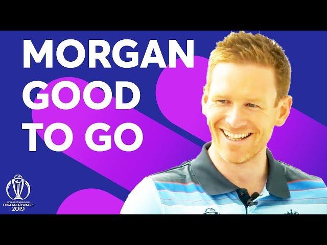 Morgan good to go, despite fracture