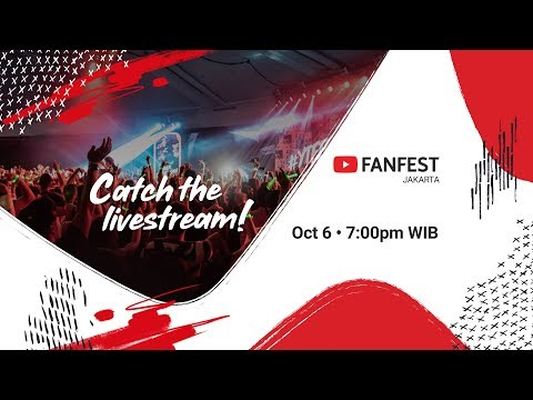 Download YouTube FanFest Jakarta 2018 - Livestream HD Mp4 3GP Video and MP3