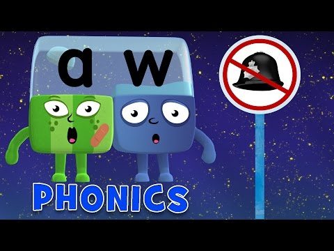 Learn to Read | Phonics for Kids | Long Vowels - AU and AW