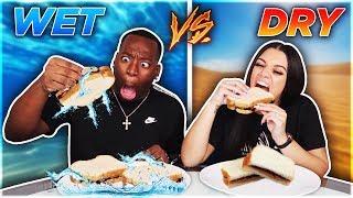 WET VS DRY FOOD CHALLENGE