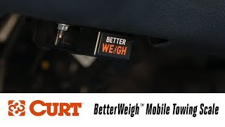 In the Garage™ with Total Truck Centers™: CURT BetterWeigh™ Mobile Towing Scale