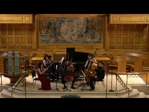 "Schubert Piano Quintet"" Trout"" at Madison Avenue Presbyterian Church, New York NY"
