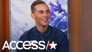 Did Adam Rippon Really Discover He Was On The Olympic Team Via Text Message? | Access