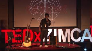TEDx ZIMCA at Zeal Education Society-Sanish Nair