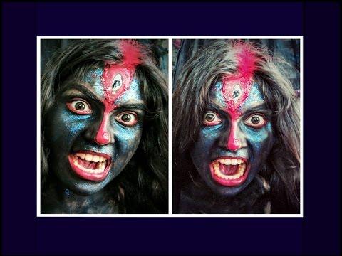kali | Indian Mythology inspired Makeup Look | diwali Special