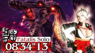 Fade to Black  Fatalis 08'34''13 Gunlance Solo