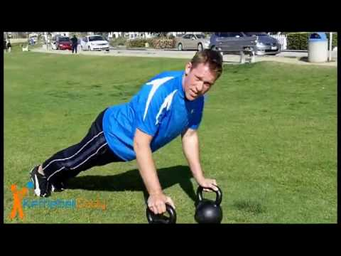 Kettlebell Pushup