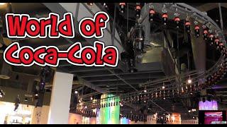 INSIDE World of Coca Cola Museum Atlanta Georgia HD