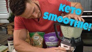 Low Carb Keto Smoothie: Boost Hormones & Increase Libido