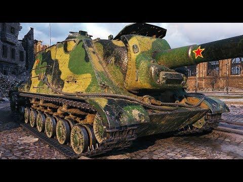 WZ-111G FT - A HUGE CALIBER - World of Tanks Gameplay