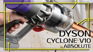 DYSON CYCLONE V10 ABSOLUTE - Unboxing, erster Eindruck und Test