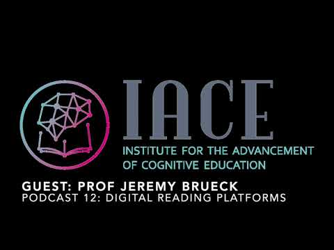 Powerful Podcast 12: Prof. Jeremy S. Brueck (Ebooks and digital reading platforms)