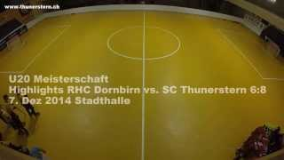 preview picture of video 'Rollhockey U20: Highlights RHC Dornbirn vs SC Thunerstern'