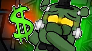 Dreadbear Goes Broke?! | Minecraft FNAF Roleplay