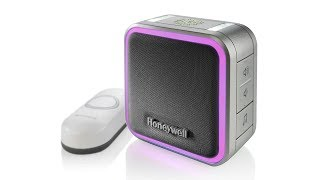 Honeywell 5 Series Portable Wireless Doorbell with Halo Light and Push Button (RDWL515A)