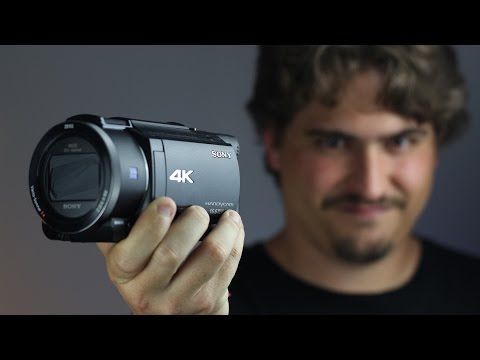 REVIEW DE LA CAMARA DE VIDEO PROFESIONAL 4K SONY AX53