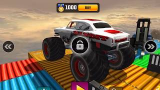 IMPOSSIBLE MONSTER TRUCK 3D STUNT TRACKS 2018 - Android / iOS Gameplay - Car Racing Games