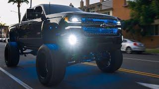 12 Inch Lift Midnight Edition Chevy Silverado 6.2L 24x14 On 40's