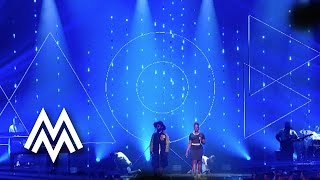 Naughty Boy FT Arrow Benjamin  Shezar | 'Runnin' (Lose It All)' live at MOBO Awards | 2015 | MOBO