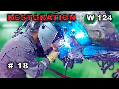 Реставрация Mercedes-Benz 124 седан (#18) Главное в мелочах