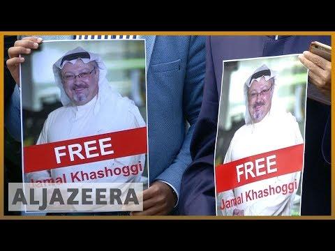 🇹🇷Missing Saudi journalist Khashoggi supporters rally in Turkey l Al Jazeera English