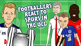 442oons - SPURS OUT! Footballers React to Spurs in the Champions