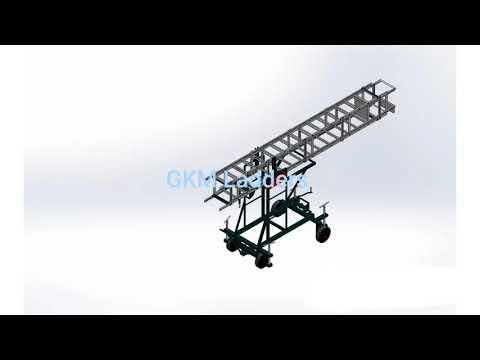 Industrial Trolley Tower Ladder