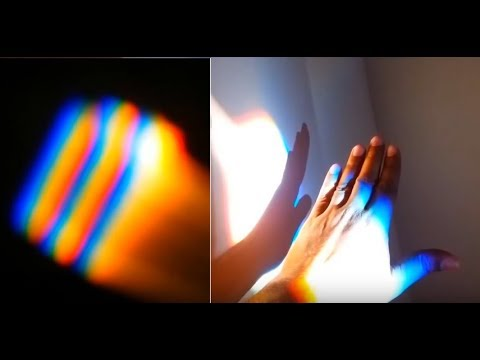 How to Make a DIY Prism Using Water and Mirror