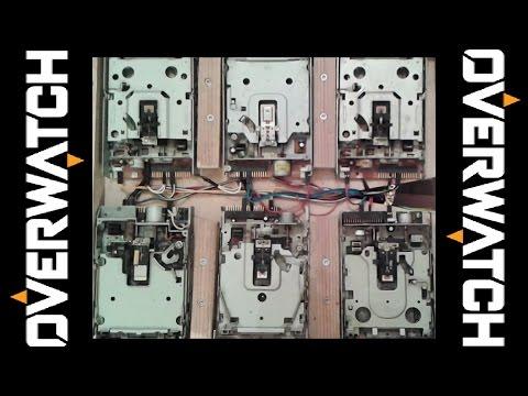 用六台磁碟機演奏鬥陣特攻主題曲