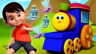 terbang seperti lalat | Fly Like A Fly | Bob The Train Indonesia | Lagu Anak | Indonesian Kids Songs