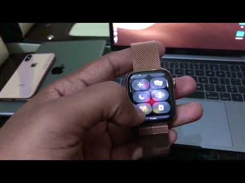 APPLE WATCH series 4 GOLD Stainless edition Unboxing 🔥🔥😍