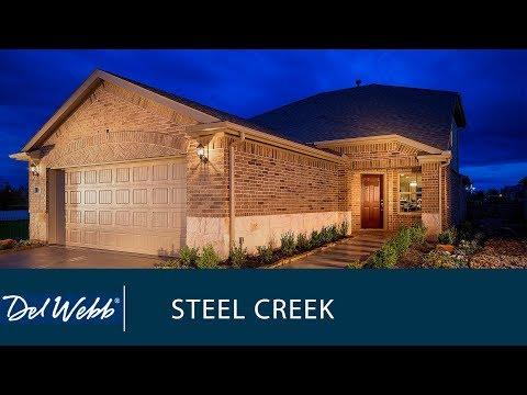 New Home Design | Ranch | Steel Creek | Home Builder | Del Webb