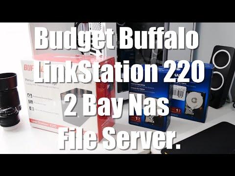 Budget File Server Nas Buffalo LinkStation 220 2 Bay