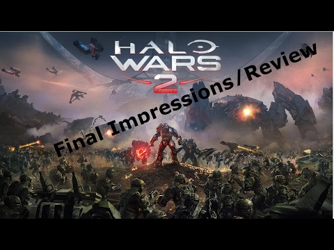 Halo Wars 2 Final Impressions/Review video thumbnail