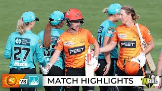Super Over required to separate Scorchers and Heat | WBBL|07