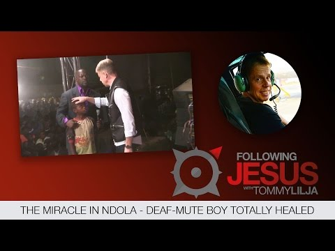 The miracle in Ndola deaf mute boy totally healed